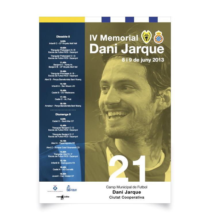 Memorial Dani Jarque para el CF Ciudad Cooperativa