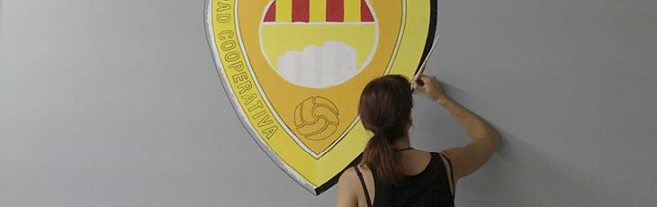 Escudo del CF Ciudad Cooperativa