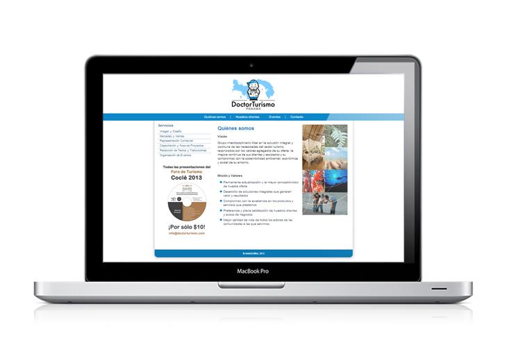 Web de DoctorTurismo