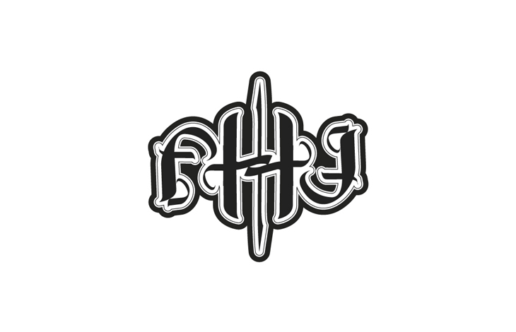 Ambigrama de FHG