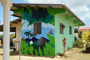 Mural selvático